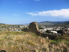 A view of Gori from the ruins of Gori Castle