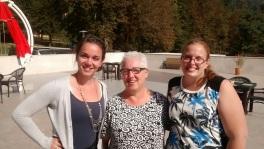 The 3 Sara(h)'s - Sara Scholtz, Sara Feldman, and Sarah Vanderbok