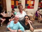 Me and Mimi with Lavina, friend of nearly 50 years