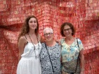 Lucy, me and Mimi at the Broad Museum