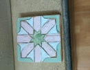 My painted tile!