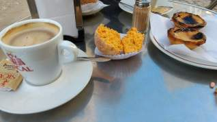 Typical Portuguese breakfast